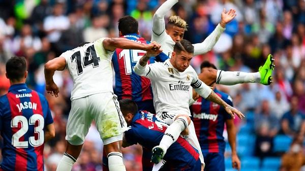 Nháºn Äá»nh kèo bóng Äá Real Madrid vs Levante, 18h00 ngà y 14/09