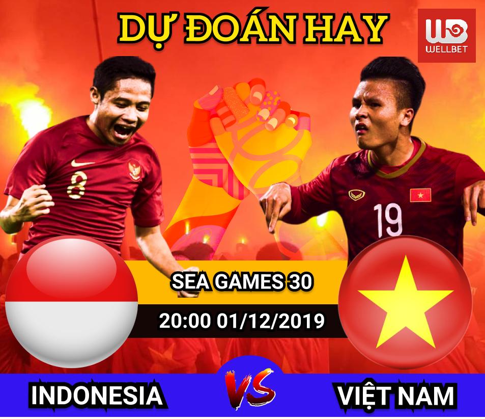 Dự đoán Indonesia v.s Việt Nam - Nhận ngay thẻ cào 100k