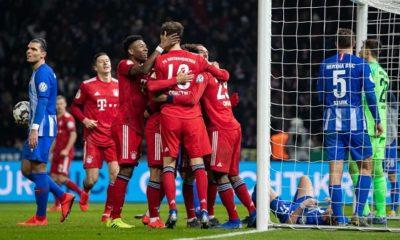 Nhận định kèo bóng đá Hertha vs Bayern Munich, 21h30 ngày 19/01