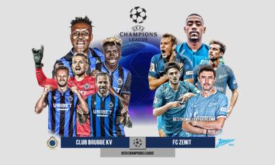 Soi kèo bóng đá hôm nay Zenit vs Club Brugge, 23h55 ngày 20/10