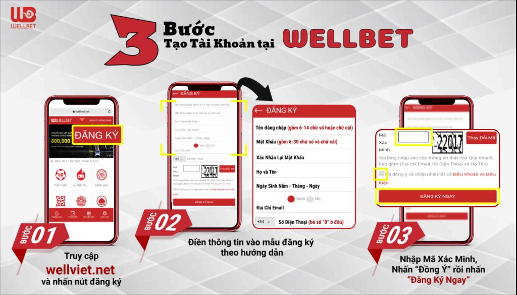 Lộc Tết 2021 từ Wellbet - 100 Freecode mỗi ngày chỉ với 1 phút đăng ký